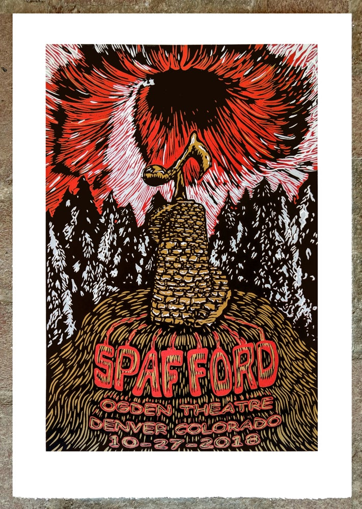 Image of Spafford Ogden Print October 27th 2018