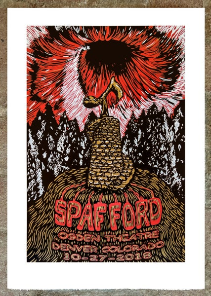 Image of Spafford Ogden Print October 27th 2018