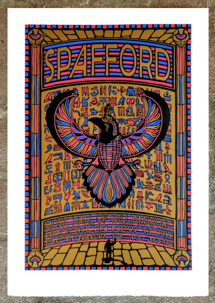 Image of Spafford Brooklyn Print 10-12/13-2018