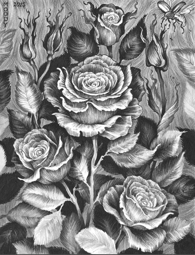 Image of Rose Overgrowth Print