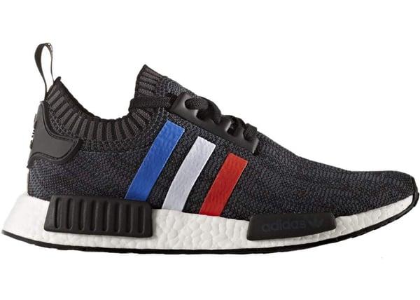 Image of Adidas NMD Tri Color Stripes Black