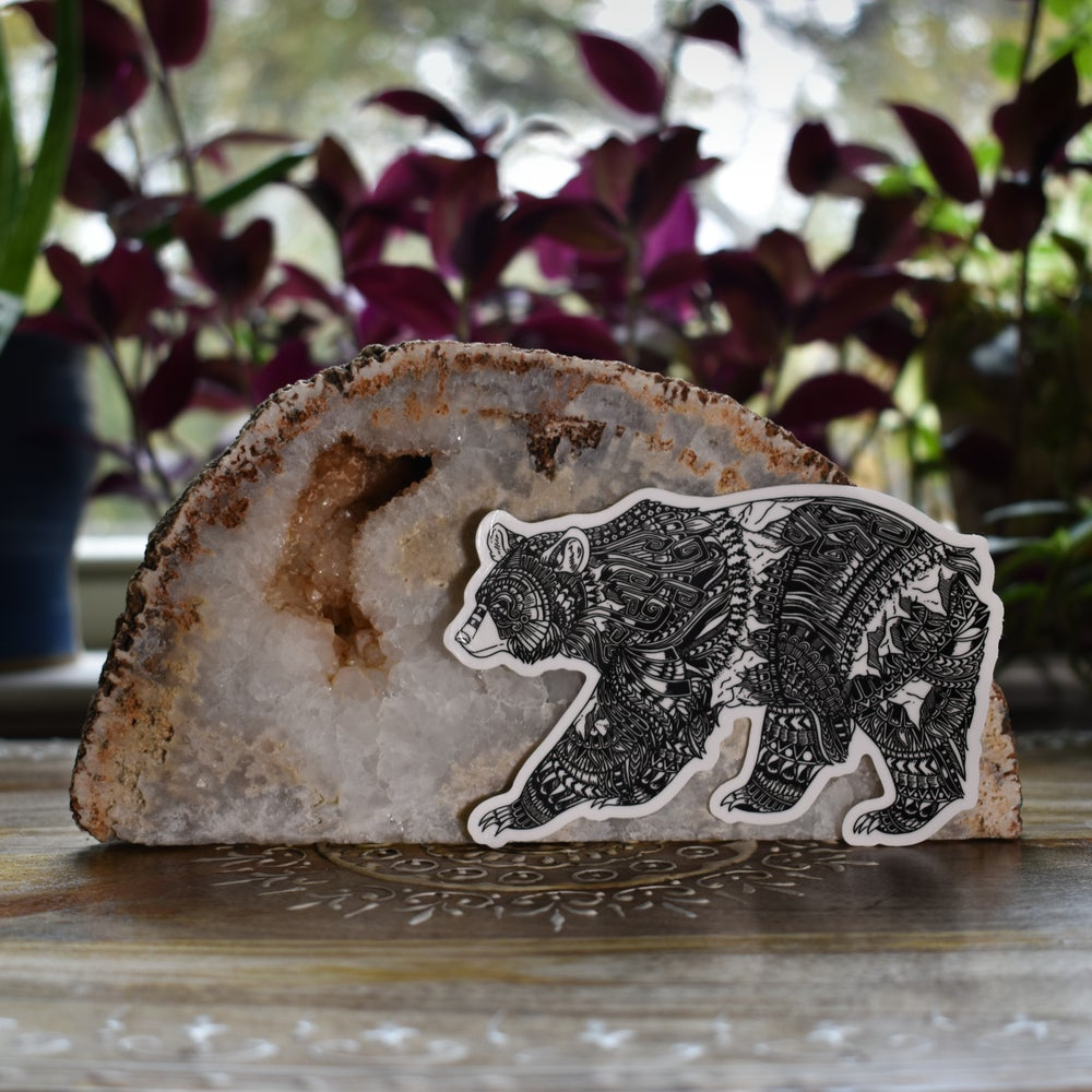 Image of Callisto the Bear Sticker