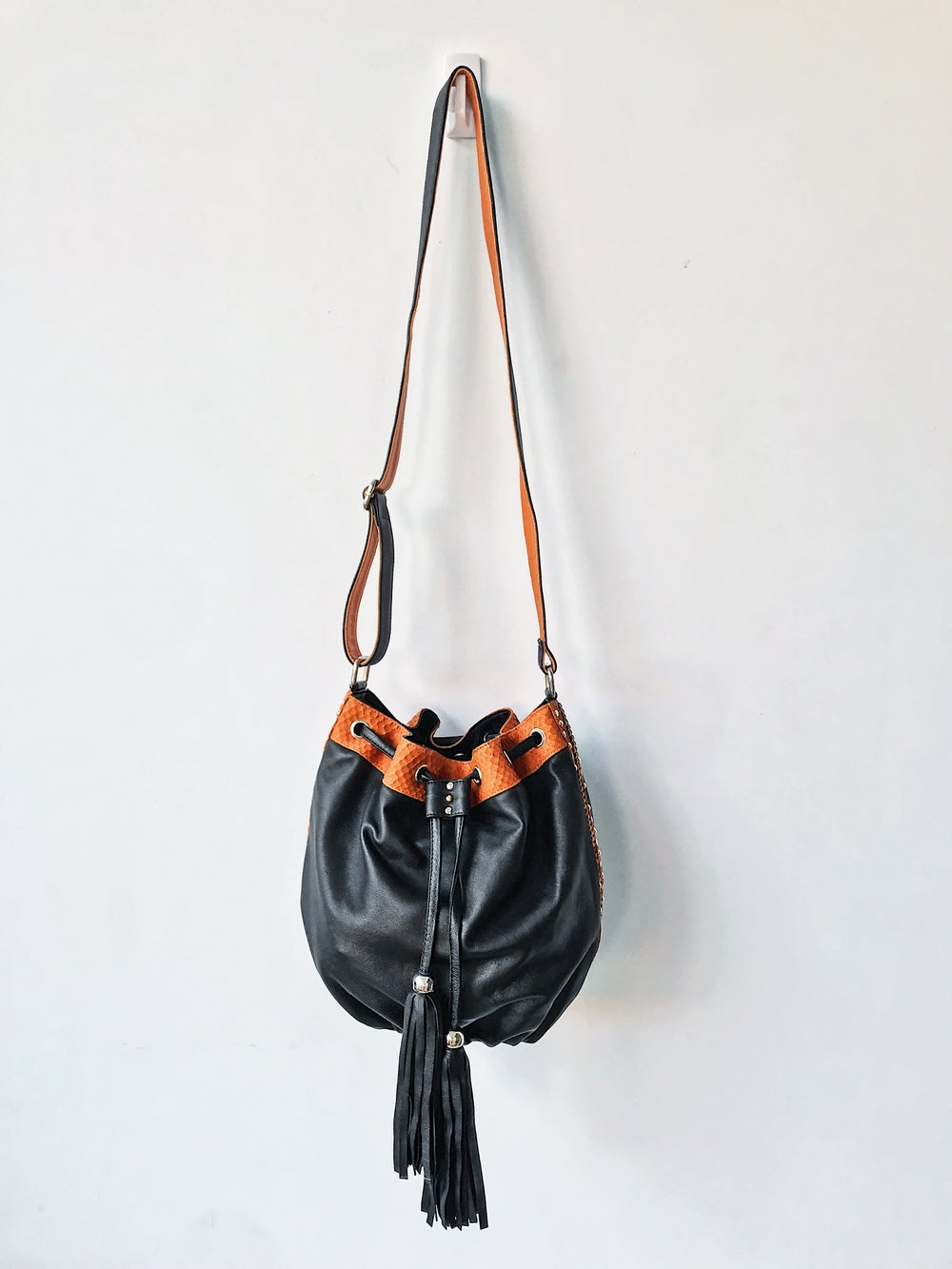 Image of SOLAIRE LEATHER BAG