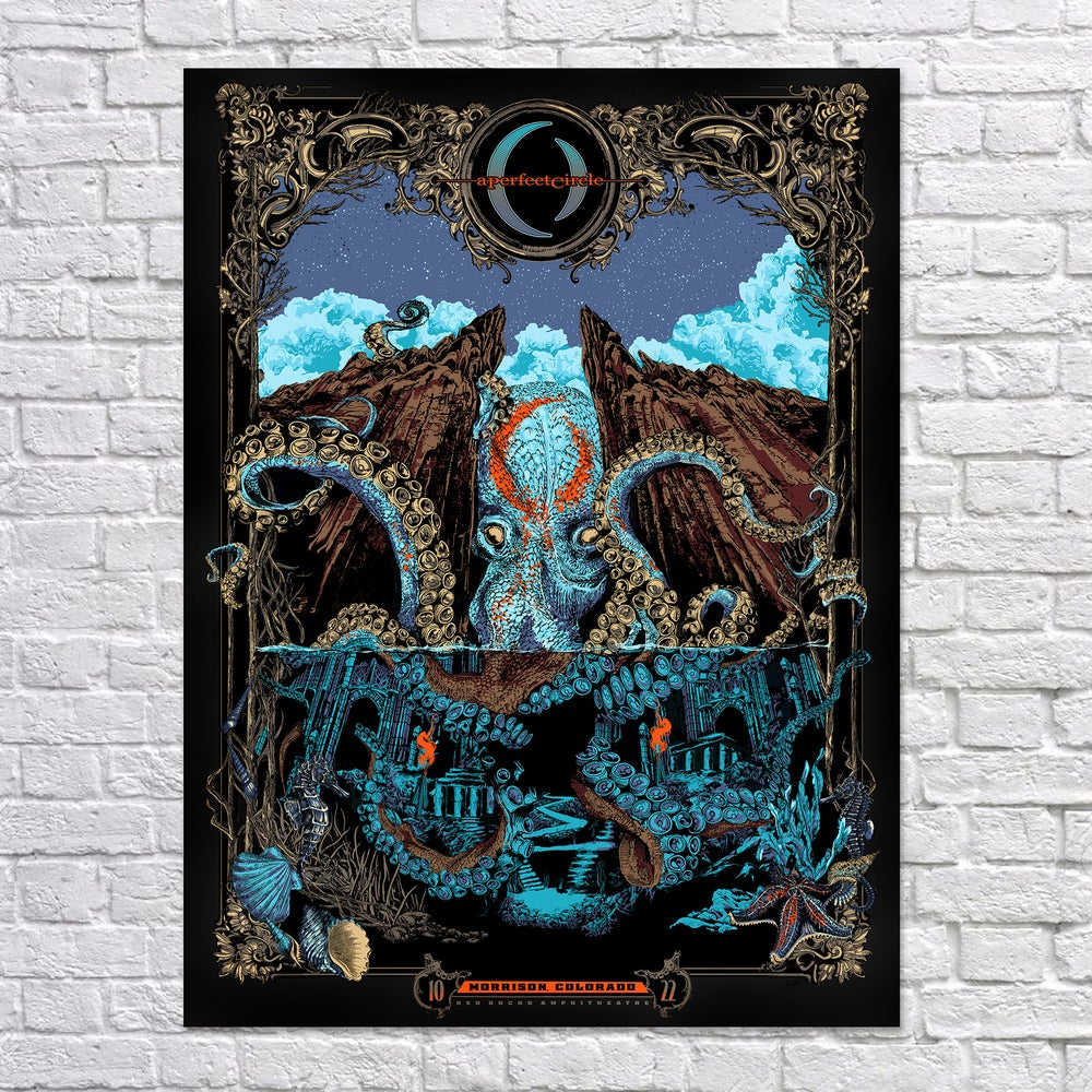 Image of Shores of R'lyeh- Limited Edition Screen Print
