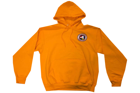 "Image of Night Grind 'Hoodieszn"" Yellow Hoodie"
