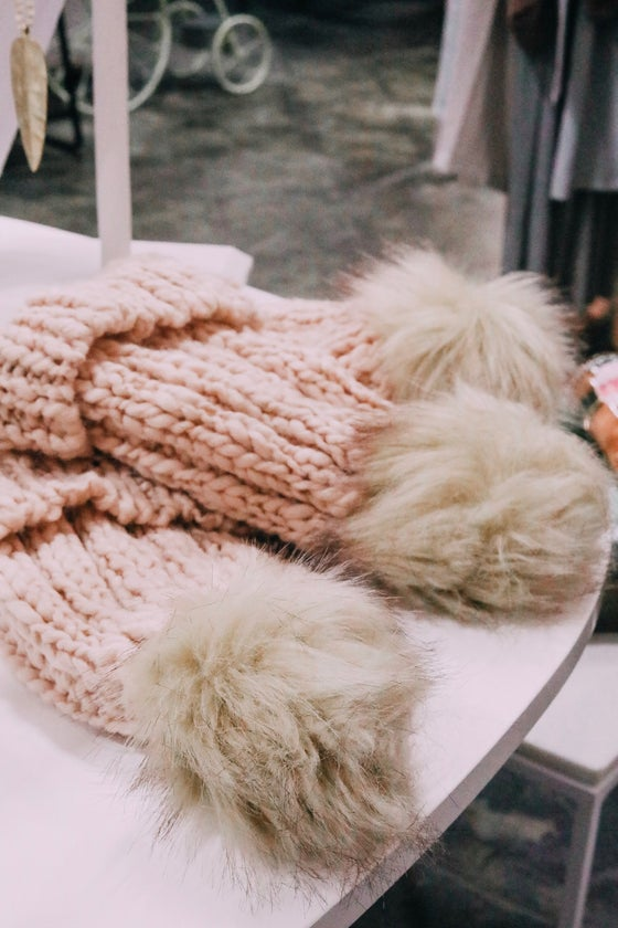 Image of Cozy Blush Hat