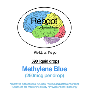 Image of METHYLENE BLUE LIQUID W/DROPPER (590 DROPS PER 1OZ BOTTLE)