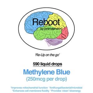 Image of METHYLENE BLUE LIQUID W/DROPPER (590 DROPS PER 1OZ BOTTLE)
