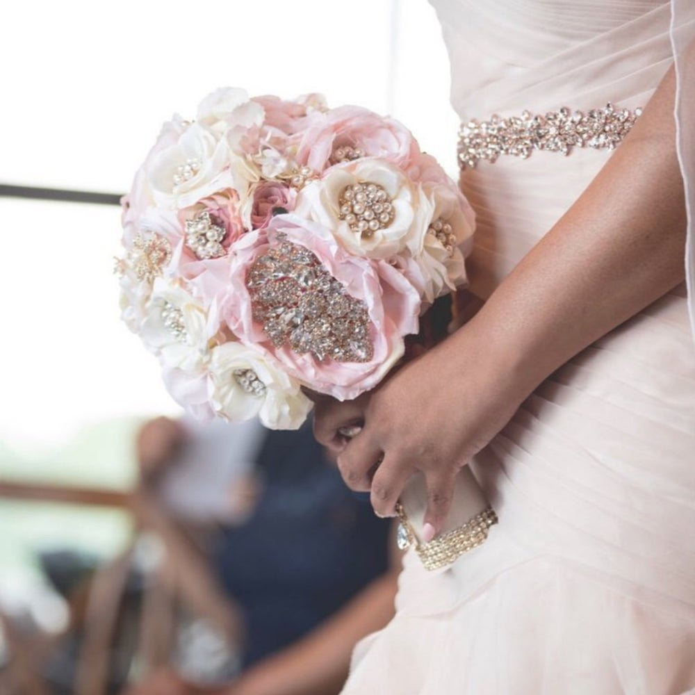 "Image of ""Kristy"" Brooch Bouquet"