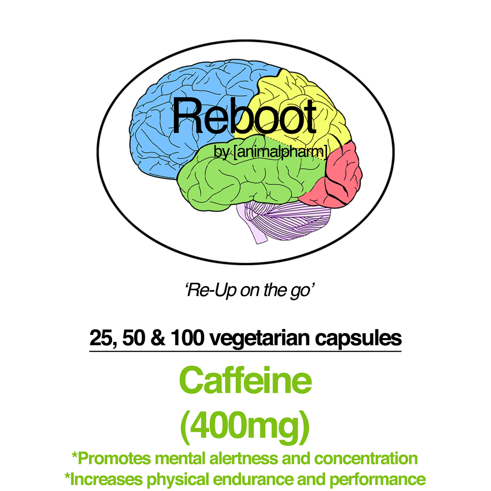 Image of CAFFEINE CAPSULES(400MG) (PREWORKOUT DOSE)