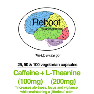 Image of CAFFEINE + L-THEANINE (100MG/200MG + 200MG/300MG OPTIONS) YOU CHOOSE