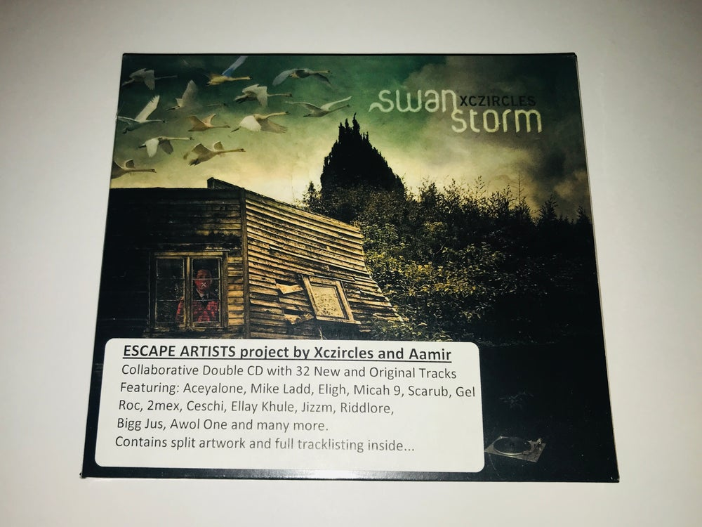 Image of ESCAPE ARTISTS - SWAN STORM/QUIET AFTER (2xl cd)