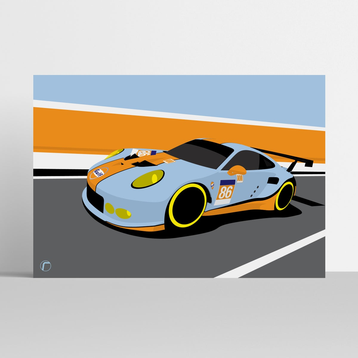Image of Porsche 911 | Gulf Racing