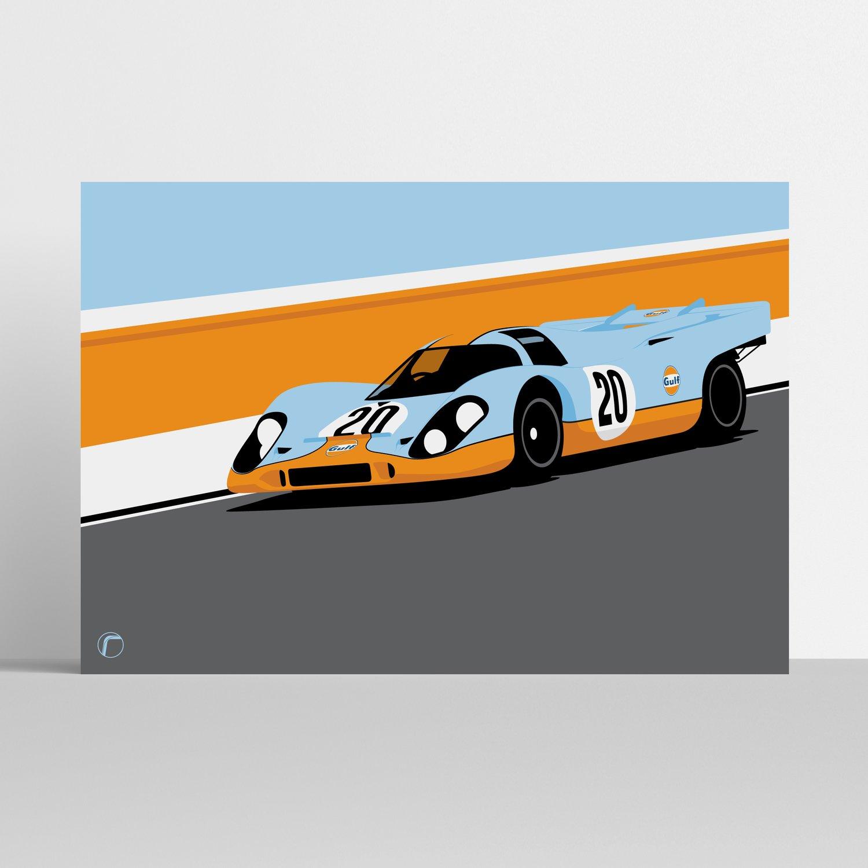 Image of Porsche 917 | Gulf Racing