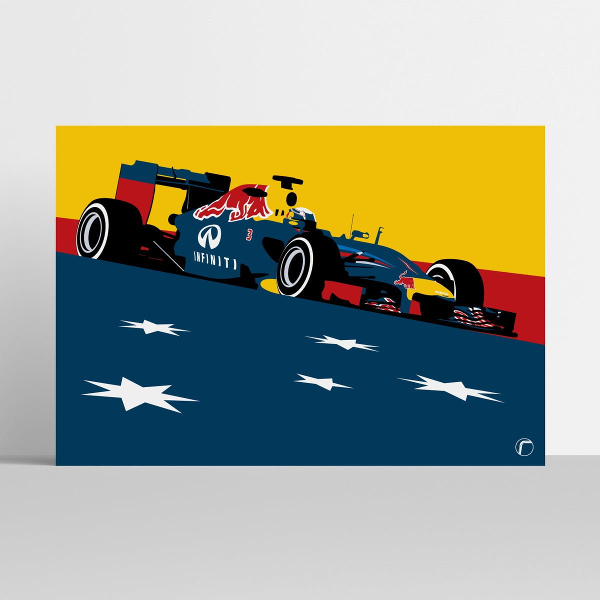 Image of Red Bull Racing RB10 | Ricciardo