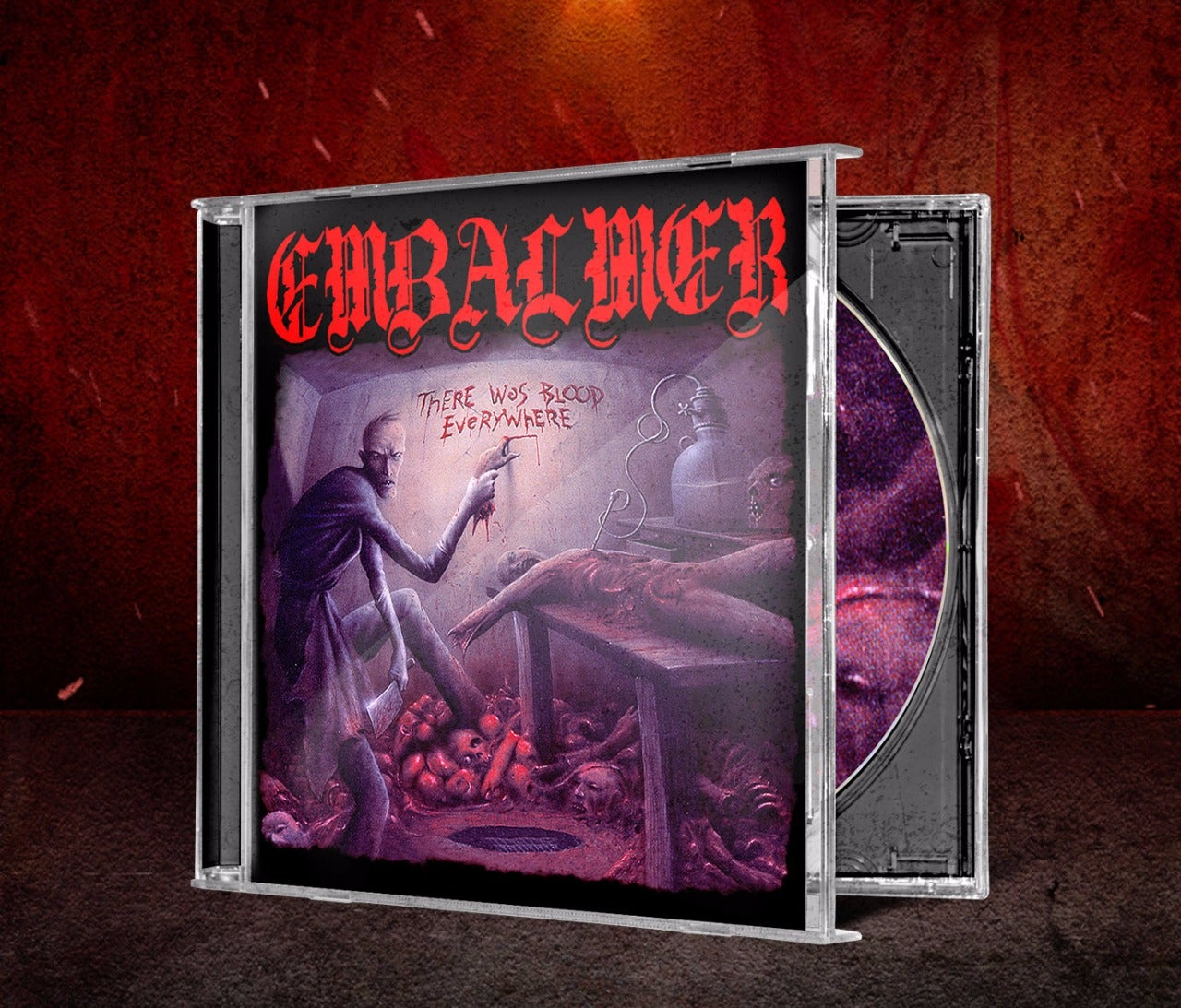 Image of EMBALMER - There Was Blood Everywhere CDs & Tapes ( Limited Edition With Hand Number )