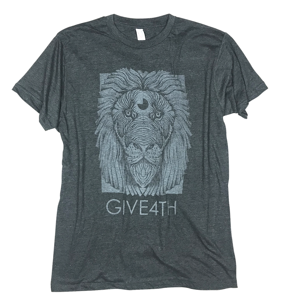 Image of Give4th Lion Tshirt