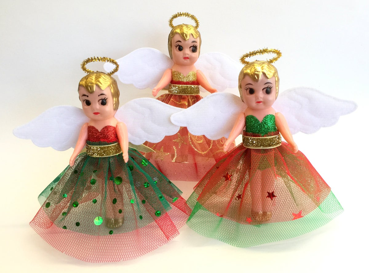 Image of DIY Kewpie Christmas Angel Kit