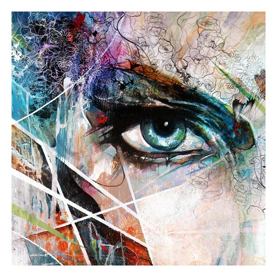 Image of I See Life In The Stars - OPEN EDITION PRINT - FREE WORLDWIDE SHIPPING!!!