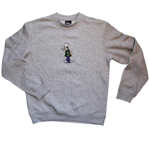"Image of ((Mr MET X SIKA)) Embroidered character No 1 *caught red handed""  ((Jumper))"