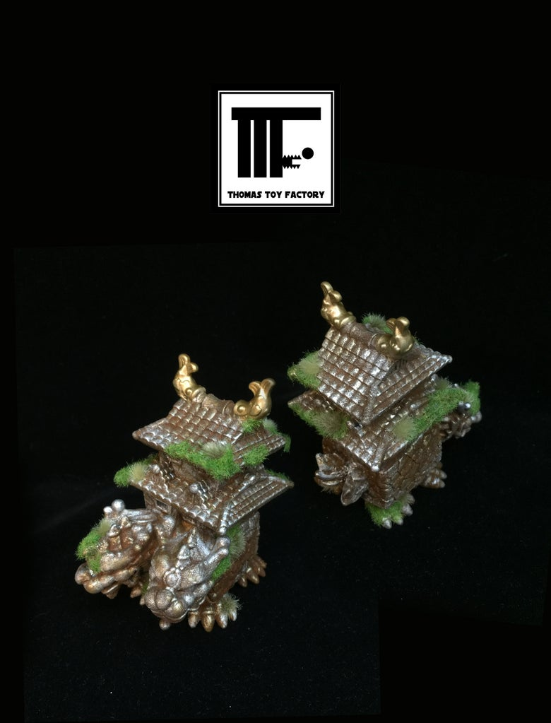 Image of Black seed toys X Thomas toy factory - Castledragon