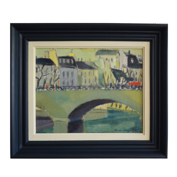 Image of 'Spring in Paris 1949,' Oil Painting, Fabian Lundqvist
