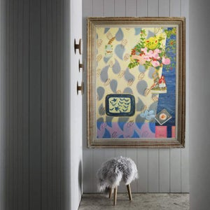 Image of Huge Contemporary Painting, 'The Enchanted Wood', Poppy Ellis