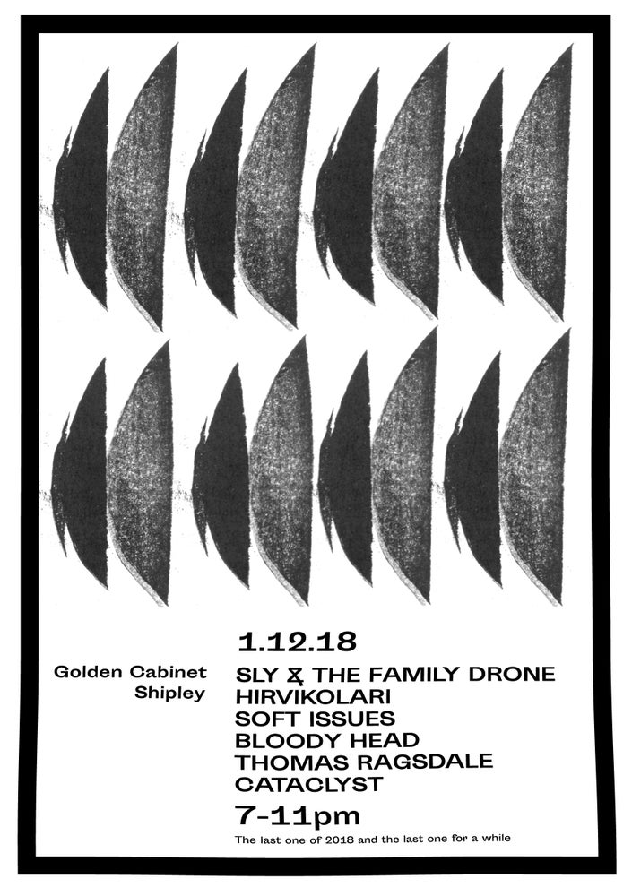 Image of Sly & the Family Drone / Hirvikolari / Soft Issues / Bloody Head / Thomas Ragsdale / Cataclyst