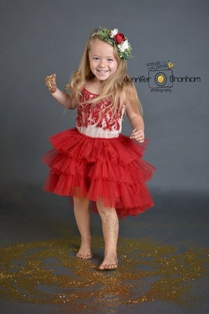 Image of 2018 Christmas Glitter Styled Mini Session