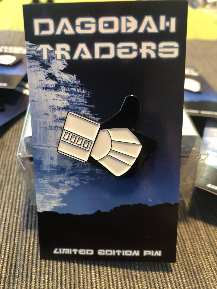 Image of THUMBS UP TROOPER Lapel pin NEW!