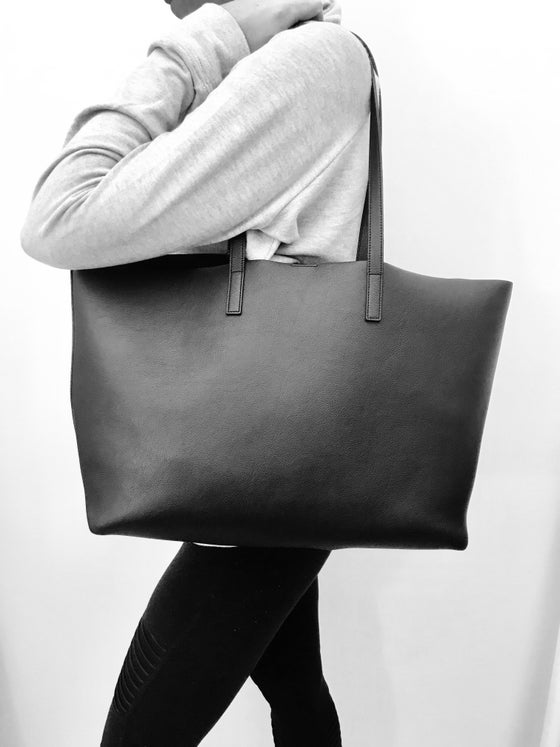 Image of Leather Tote Bag