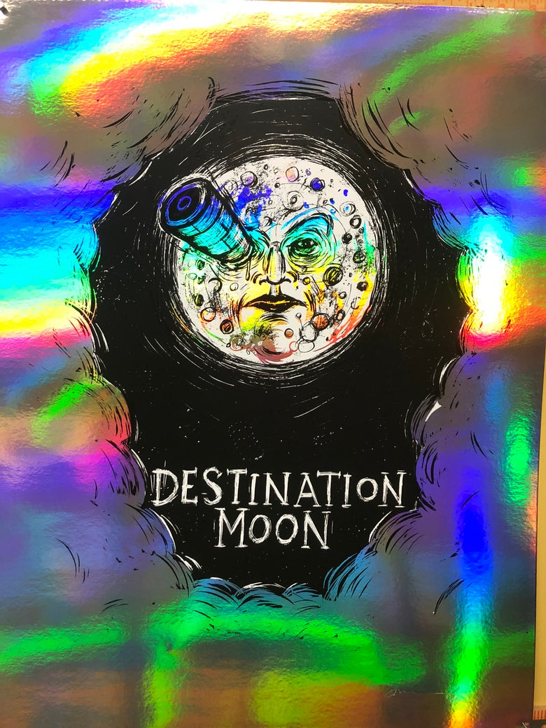 Image of Destination Moon Rainbow Foil