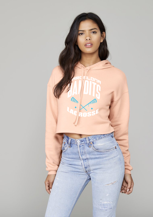 Image of Team Bandits Crop-top Hoodie - Women