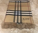 Image of Personalised Initial Scarf