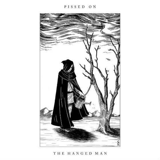 "Image of THE HANGED MAN 7"" RECORD"