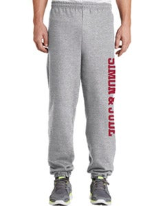 Image of Sweatpants - Elastic Leg