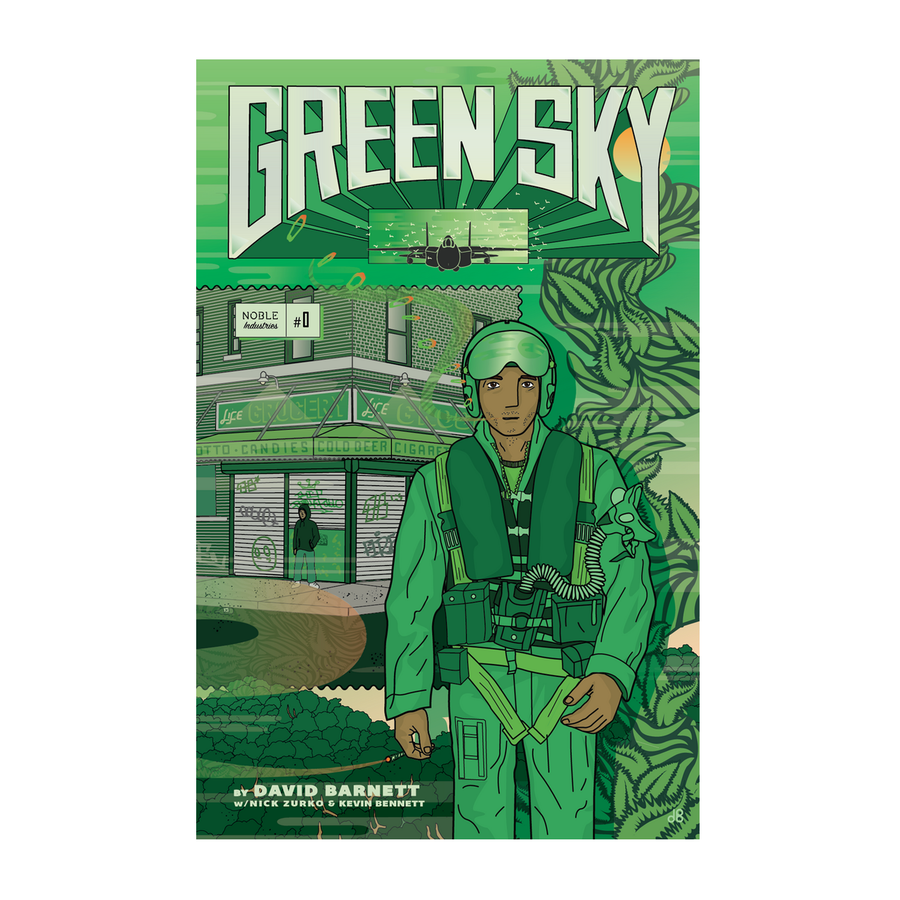 Image of Green Sky Comic Book