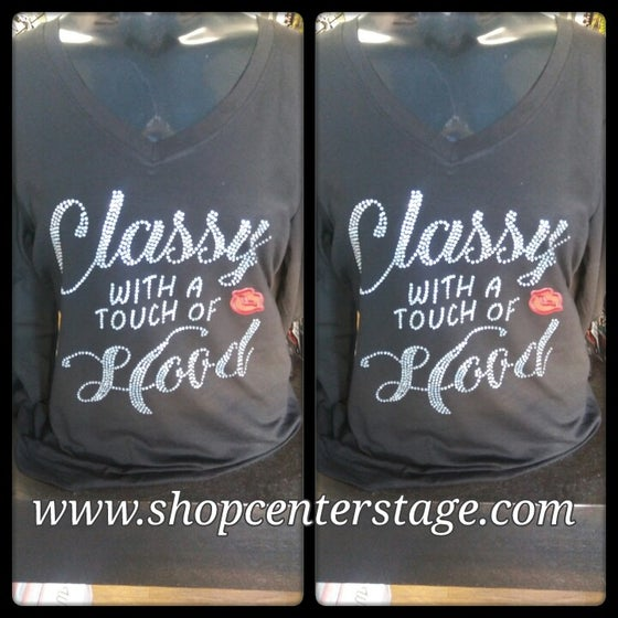 Image of bling classy tshirt