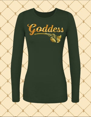 Image of NASIRAH SAHAR COLLECTION® GODDESS L/S TSHIRT