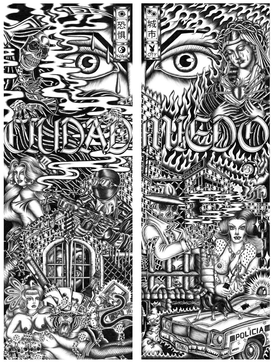 Image of Fear City (Diptych)