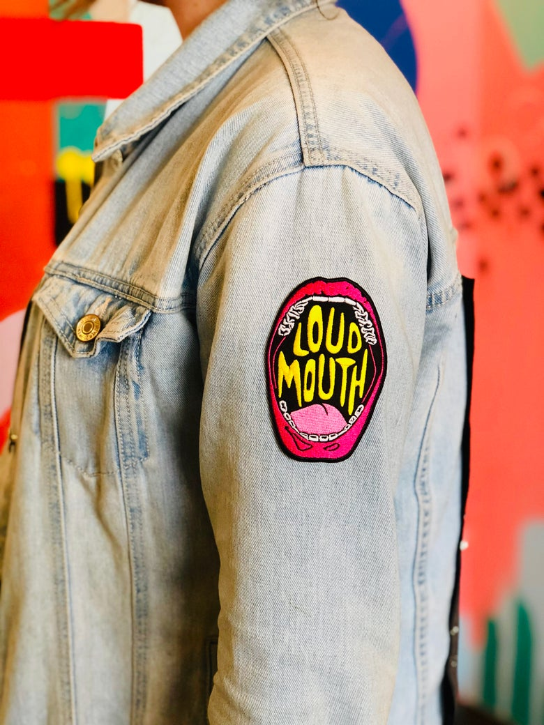 Image of LOUD MOUTH PATCH