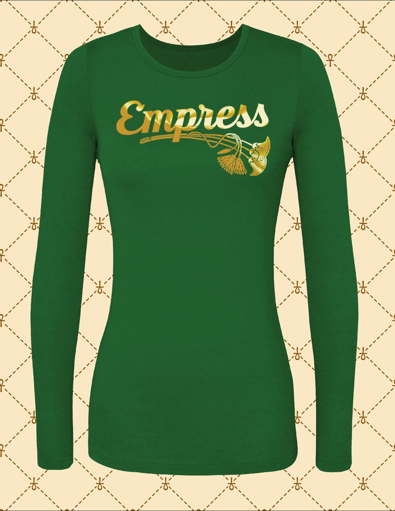 Image of NASIRAH SAHAR COLLECTION® EMPRESS L/S TSHIRT