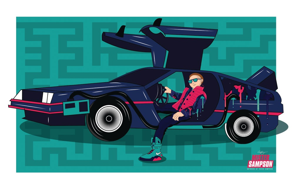 "Image of ""MORTY MCFLY"" POSTER PRINTS"