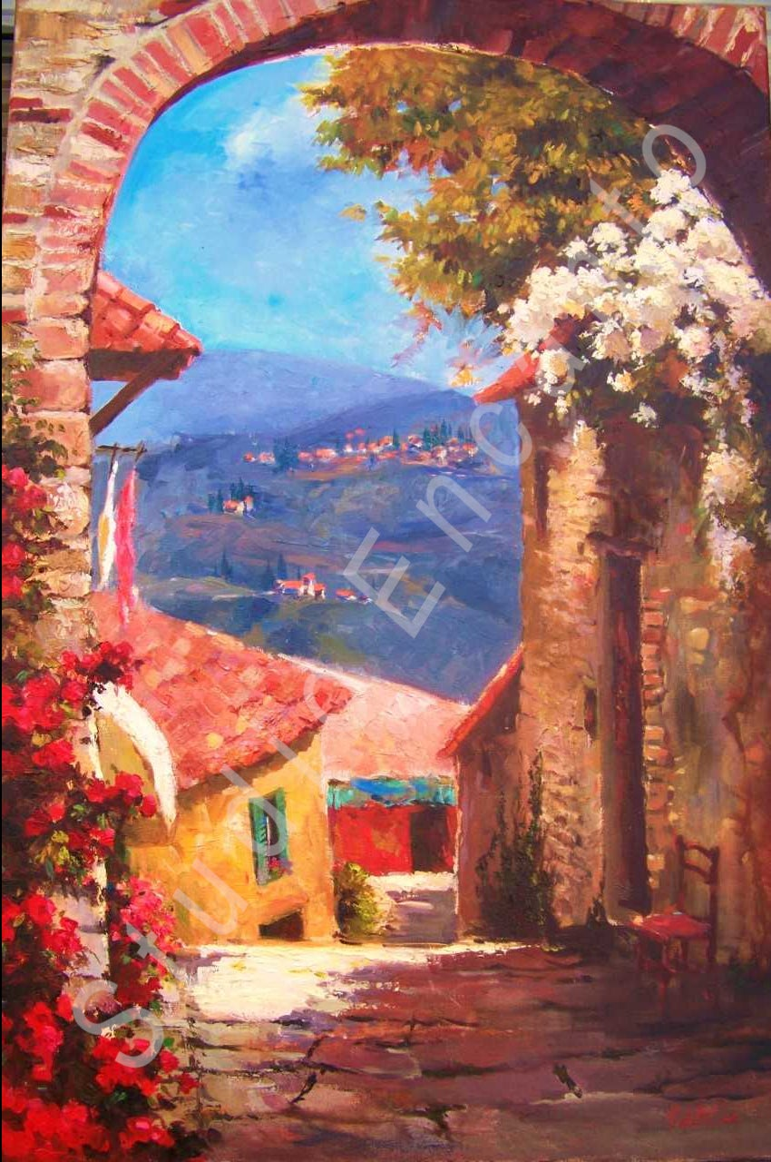 Image of Fiesole by Violetta Chandler