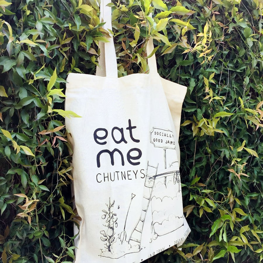 Image of fairtrade tote bag / illustration