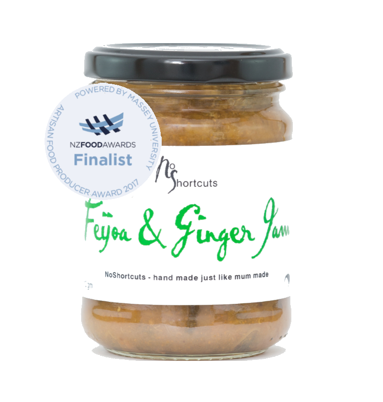 Image of Feijoa & Ginger Jam
