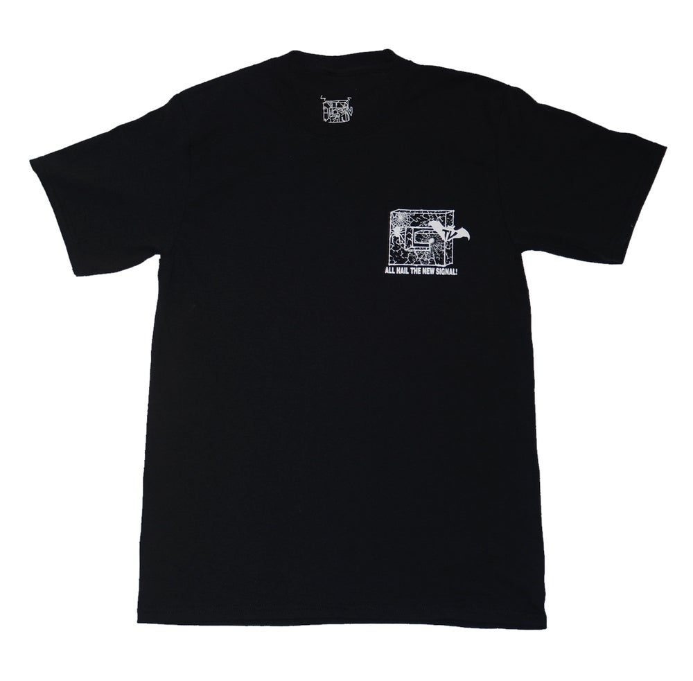 Image of SPOOKY CIRCUIT BLACK T-SHIRT