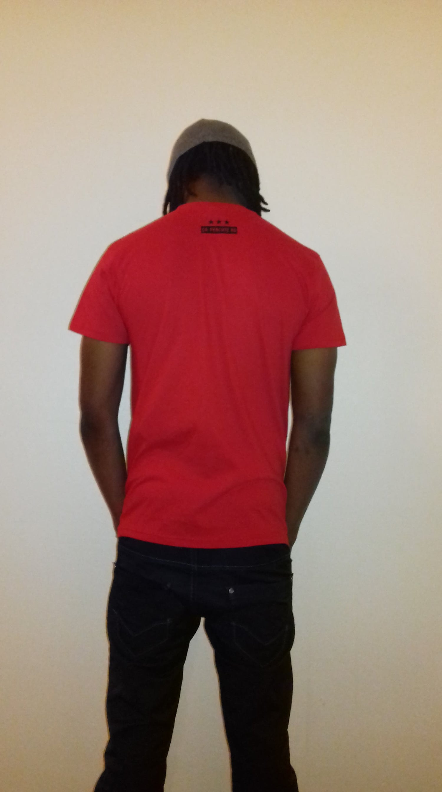 Image of Tee-shirt Rouge Homme