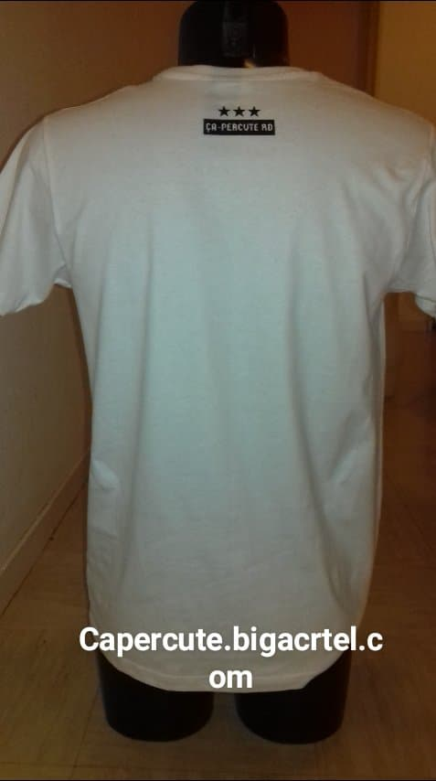 Image of Tee-shirt Blanc Homme