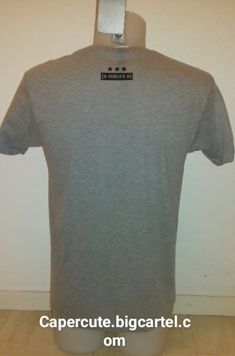 Image of Tee-shirt Gris Homme
